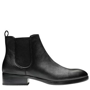 Cole Haan Womens Landsman Bootie Black Leather